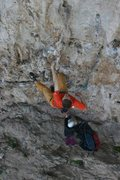 Rock Climbing Photo: Big holds on the lower portion of the route. April...