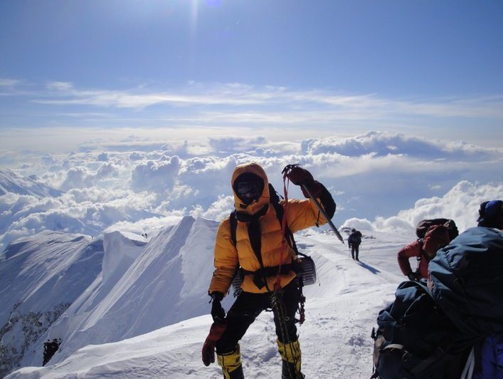 Summit of Mt. McKinley - 21 day expedition.