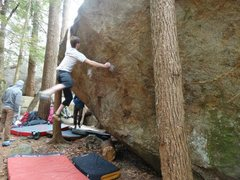 Rock Climbing Photo: Me sending Blaow