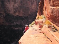 Rock Climbing Photo: Top of p 7