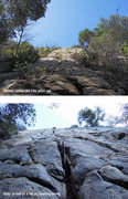 Rock Climbing Photo: To give you an idea of the work put in over the la...