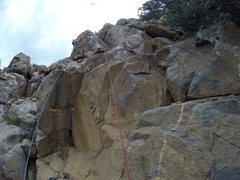 Rock Climbing Photo: looking down on it..