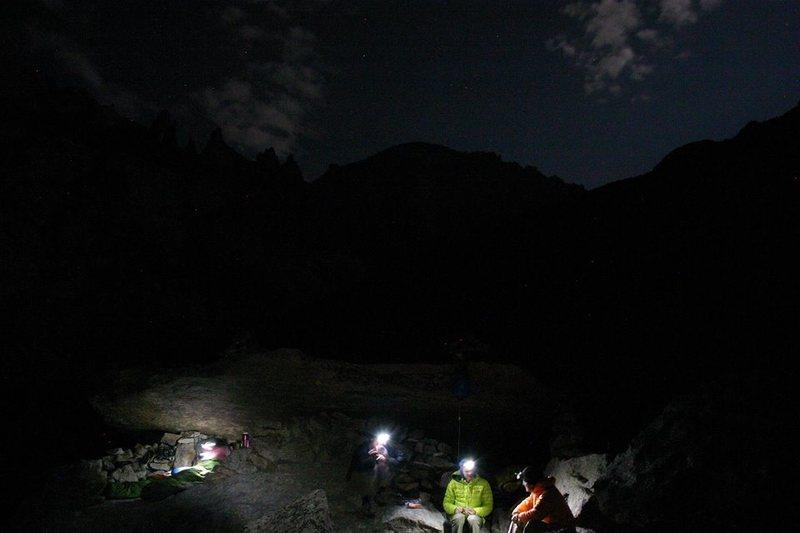 Rock Climbing Photo: Cragging in RMNP