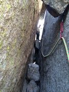 Rock Climbing Photo: Knob Hill chimney