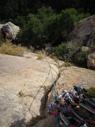 Rock Climbing Photo: A #1 Mastercam doubled with a #2 at about 40' will...