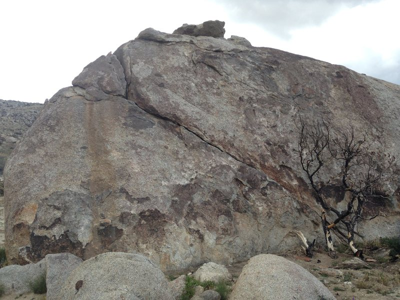Vector Boulder - East Face (down climb)