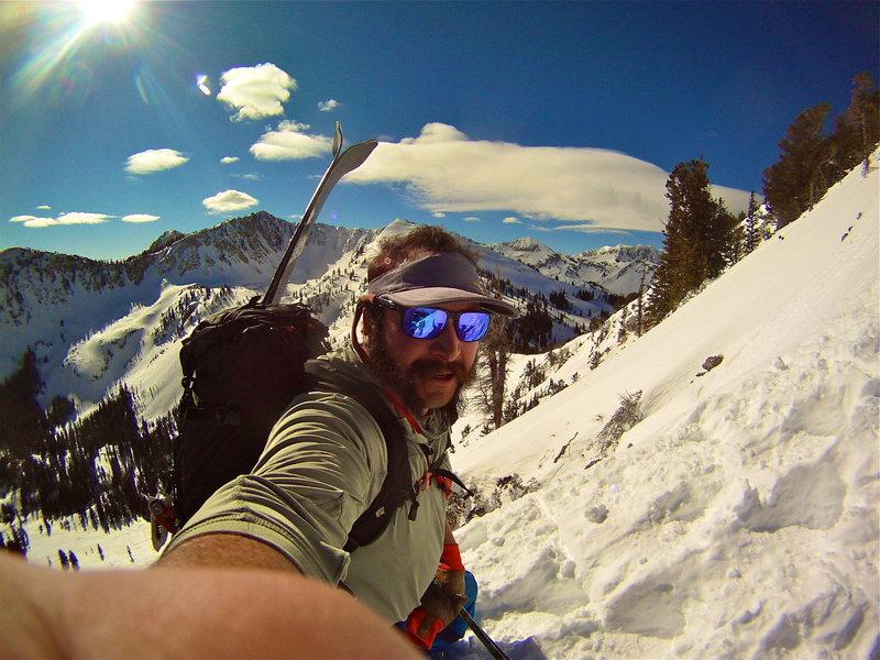 Rock Climbing Photo: fantasy ridge heading to wolverine
