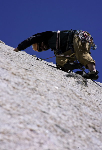 Rock Climbing Photo: squeezing lemons