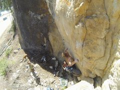 Rock Climbing Photo: Goose Bump, 5.12d
