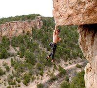 Rock Climbing Photo: #1 Superguy.