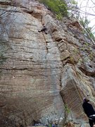 Rock Climbing Photo: picture of the whole route