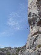 Rock Climbing Photo: Rapping P1.
