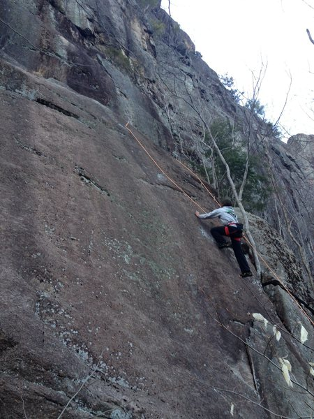 """Famed Chino Jon Garlough following """"Carpe Diem.""""  Not the best of pictures, but you get the idea..."""