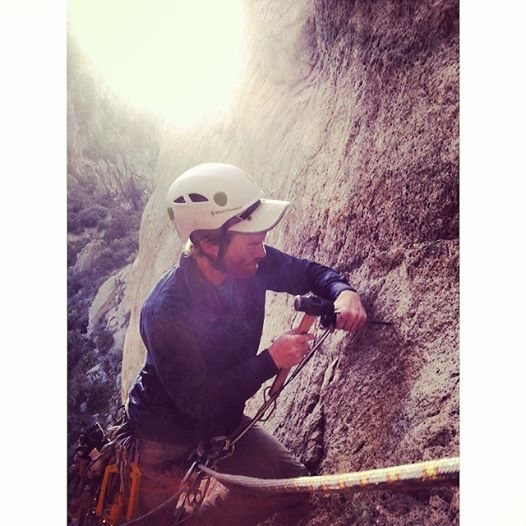 Rock Climbing Photo: Dan getting us out of a sticky situation in the Or...