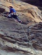 Rock Climbing Photo: RRG, Send me on my way 5.9-