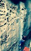 "Rock Climbing Photo: ""Bloodline"" Hueco Tanks"