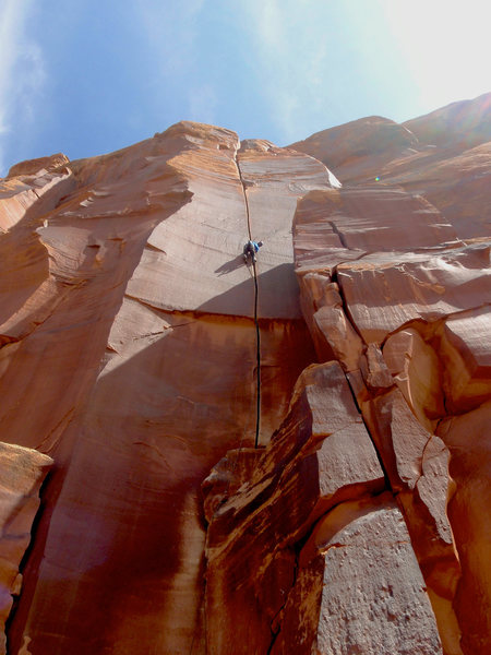 Rock Climbing Photo: supercrack