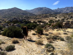 Rock Climbing Photo: Heading back to camp
