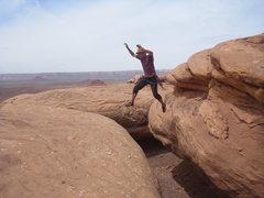 Rock Climbing Photo: leeeeeap!