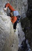 Rock Climbing Photo: No Name 5.11+ Puoux Lowe Wall