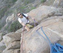 Rock Climbing Photo: getting ready