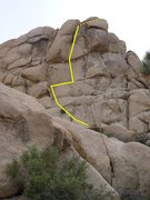 Rock Climbing Photo: NE face of Arid Piles