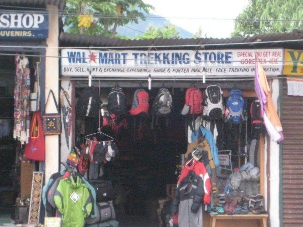 walmart trekking store in kathmandu