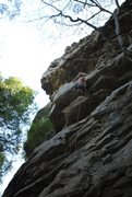 Rock Climbing Photo: whippersnapper, Lilly Bluff, Obed