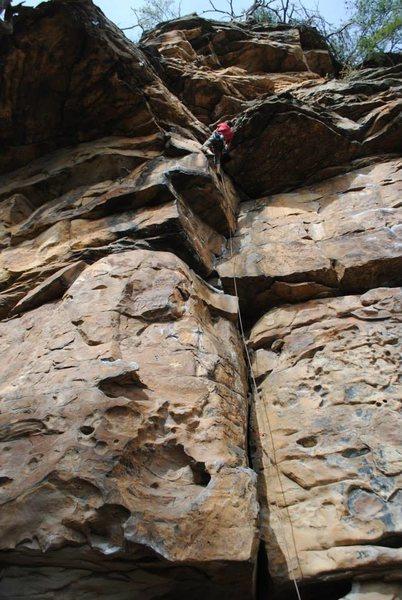 Rock Climbing Photo: 5.8 on Left side of Leda Proper.  Great moderate. ...