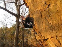 Rock Climbing Photo: Spank Me