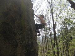 Rock Climbing Photo: Having fun on Midday Lightning