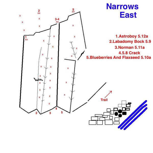 Topo of Narrows East