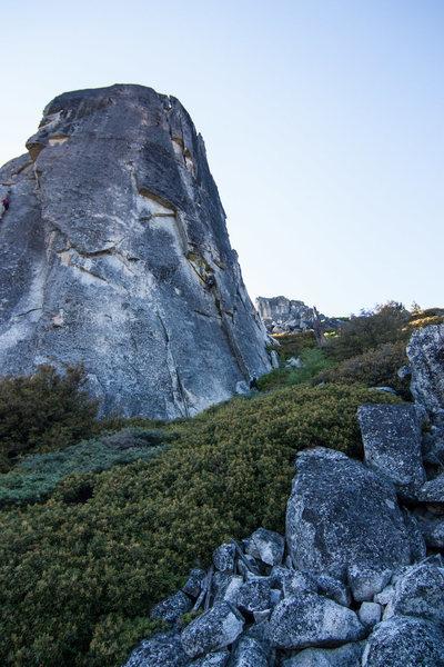 Upper Spire, view of Steppin' Stone et al.