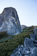 Rock Climbing Photo: Upper Spire, view of Steppin' Stone et al.