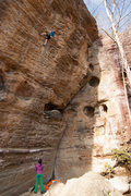 Rock Climbing Photo: Climbers on Supafly