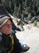 Rock Climbing Photo: crack parallel north cheyenne canyon