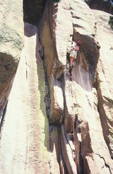Rock Climbing Photo: Mark Hesse on FFA Drumstick Direct.