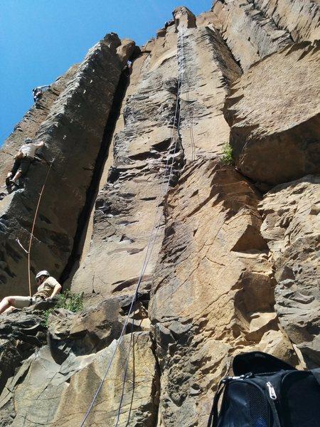 Rock Climbing Photo: A good 5.8