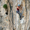 Tricky undercling crossover on the route. April 2014.
