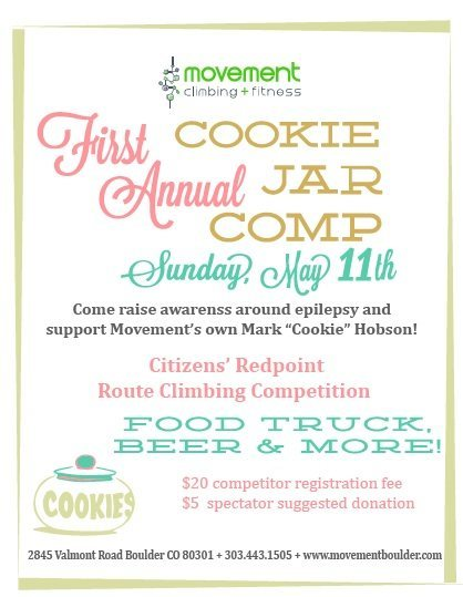 Rock Climbing Photo: Cookie Jar Comp flyer.
