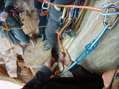 Rock Climbing Photo: Castleton Tower