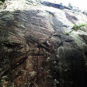 Rock Climbing Photo: Only Way 4/25/14
