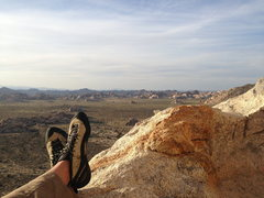 Rock Climbing Photo: The view from the top!