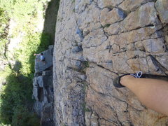 Rock Climbing Photo: View from the top down.  This is a good view of th...