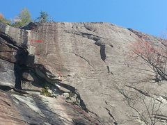 Rock Climbing Photo: topo pic
