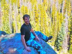Rock Climbing Photo: Brown Duck Basin, Uinta Mountains, Utah