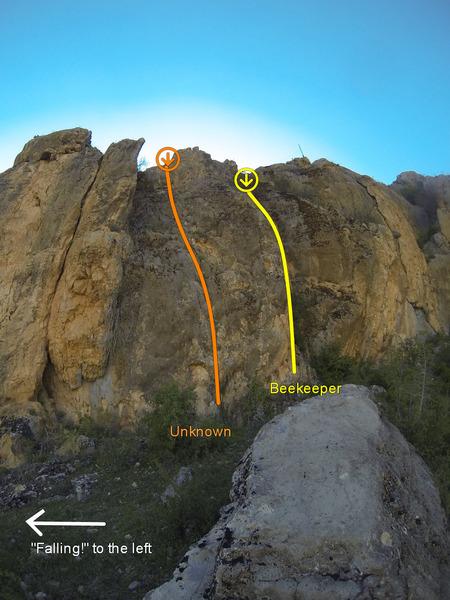 Rock Climbing Photo: Upper Right Area