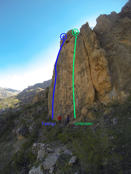 Rock Climbing Photo: Upper Left Area