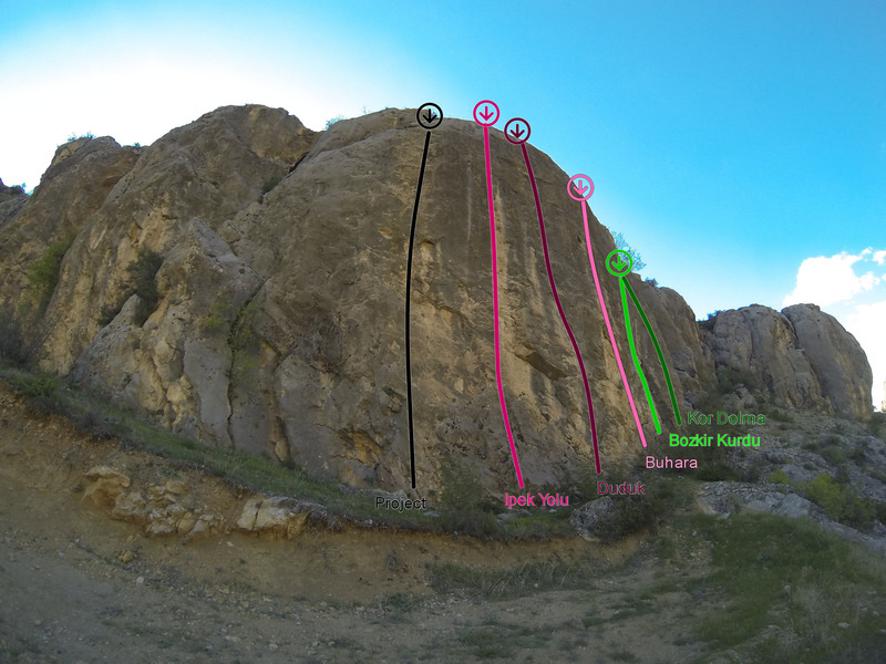 Rock Climbing Photo: Seyitali