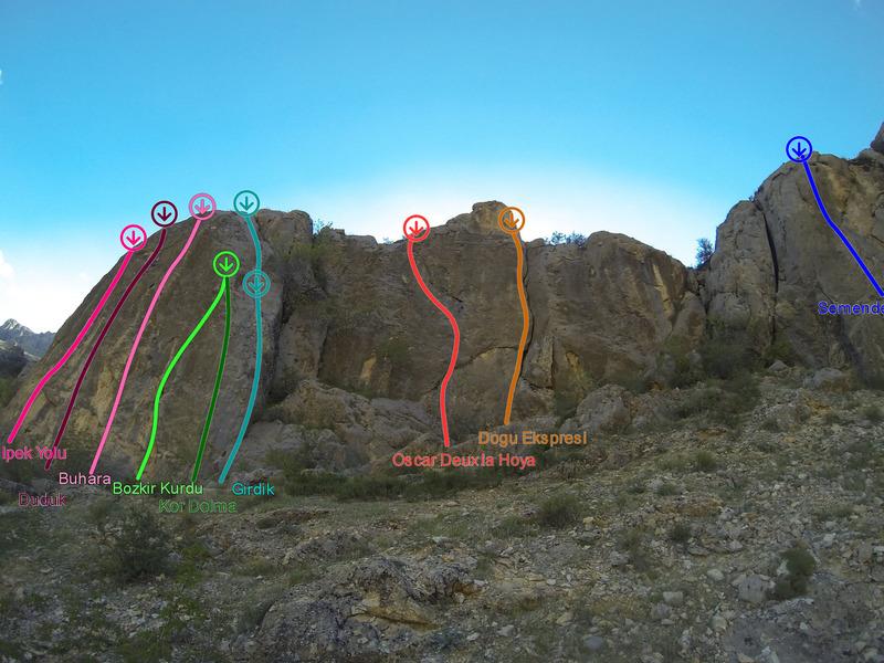 Rock Climbing Photo: Seyitali Right Area